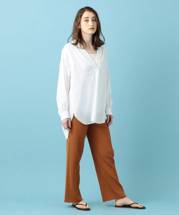 #Newans 【マガジン掲載】SOPHIE/ カフタンカラーシャツ(番号NF49)