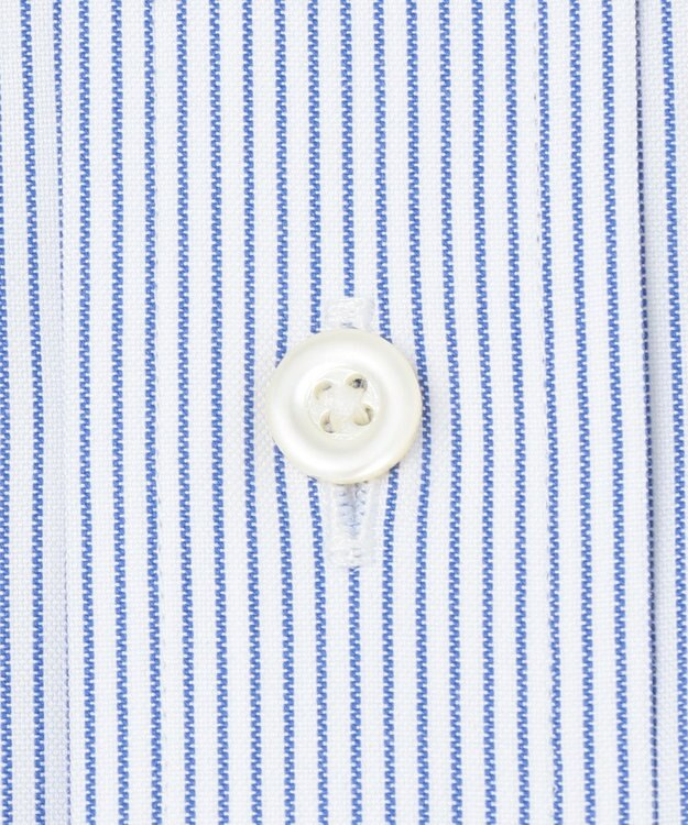 J.PRESS MEN 【PREMIUM PLEATS / 形態安定】マイクロストライプ 半袖シャツ / B.D.