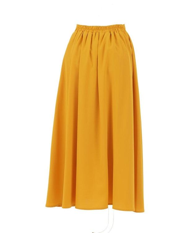 Tiaclasse 【洗える】きれい色で彩る、大人のマキシ丈フレアスカート