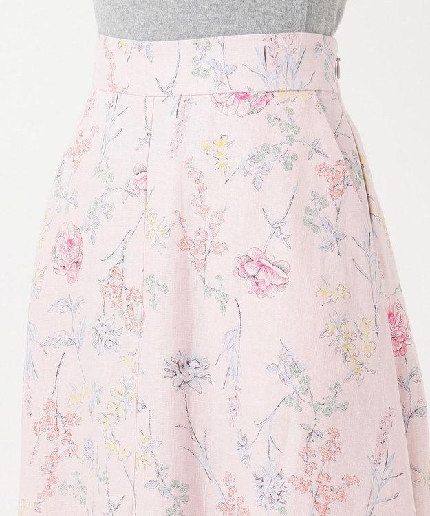 自由区 【Sサイズ有】BOTANICAL DYE フラワープリント スカート