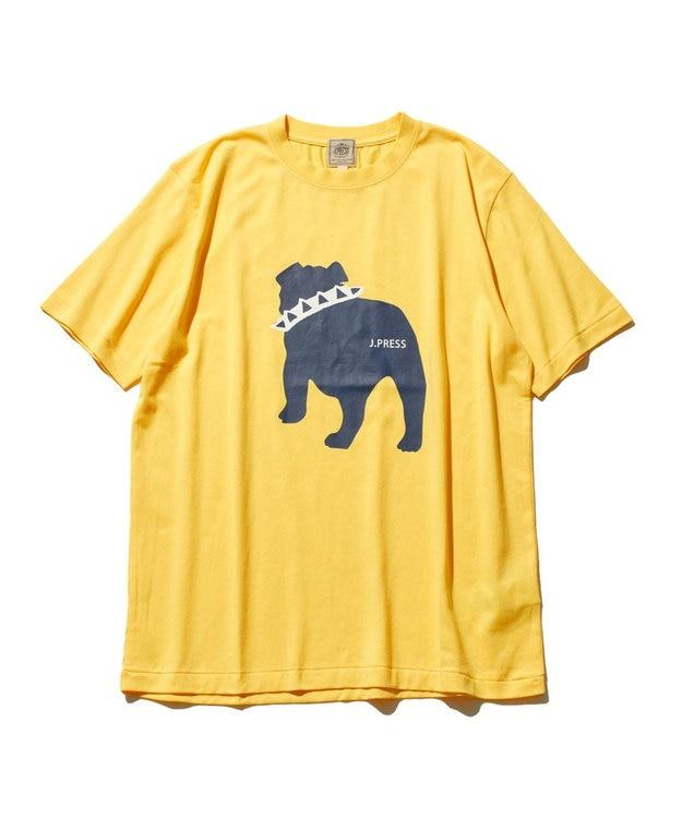 J.PRESS MEN 【WEB限定カラー&サイズ有】【UNISEX】バックブルドック Tシャツ