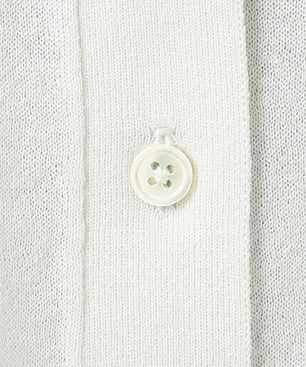 組曲 【洗える】CO/NY シアーニット シャツ