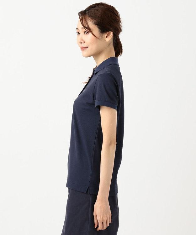 23区GOLF 【WOMEN】【Fondation/WEB限定】【吸汗速乾/ストレッチ/日本製】ハニカムライトカノコポロシャツ