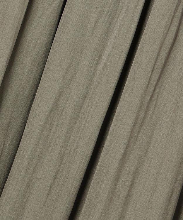 自由区 【UNFILO/Sサイズ有】スプリットデシン ティアード スカート