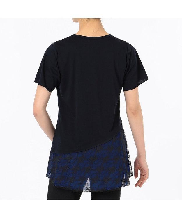 Chacott レースコンビワンピースTシャツ