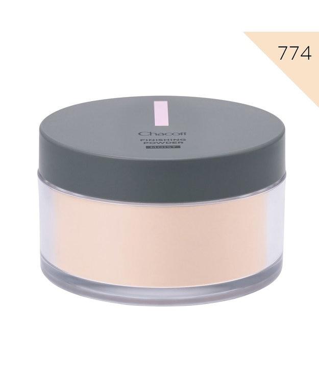 Chacott Cosmetics フィニッシングパウダー モイスト【774ライトオークル】パフ別売り