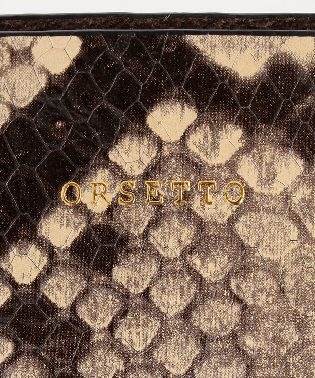 GRACE CONTINENTAL ORSETTO リネンコンビバッグ