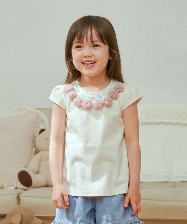 any FAM KIDS 接触冷感チェリー Tシャツ
