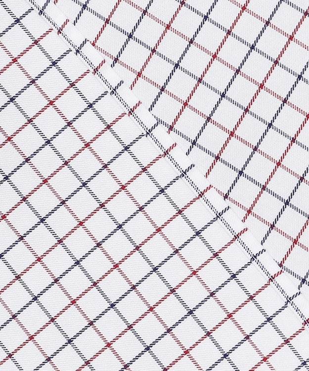 GOTAIRIKU 【THOMAS MASON】ワイドカラー_タッターソール ドレスシャツ