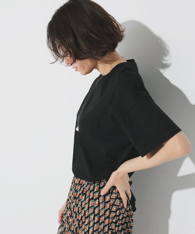 23区 【中村アンさん着用】ヴィンテージプリントプリーツ スカート(番号2H35)