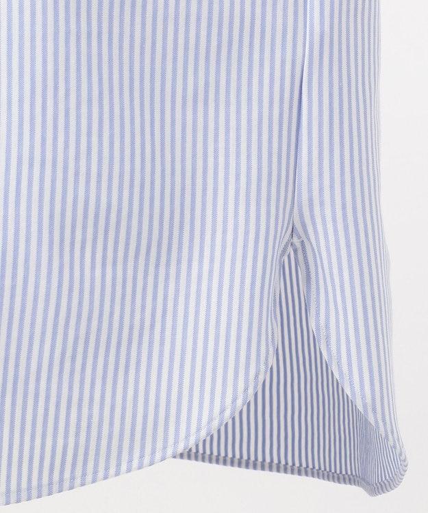 J.PRESS MEN 【J.PRESS PLUS】シャンブレー ジャージ キャンディーストライプ ドレスシャツ