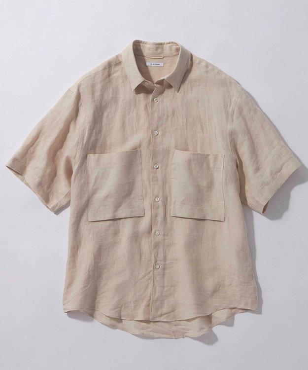 23区 【ユニセックス】LIBECO 半袖 シャツ(番号2T28)