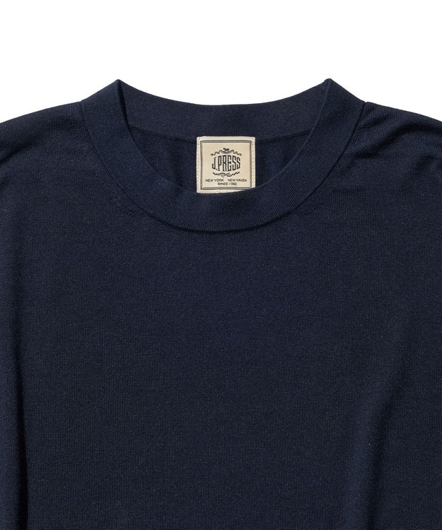 J.PRESS MEN ニット シルクTシャツ