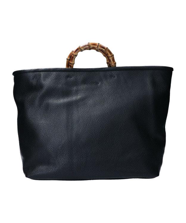 INTER-CHAUSSURES 【CHRISTIAN VILLA】バンブーハンドルワイドバッグ