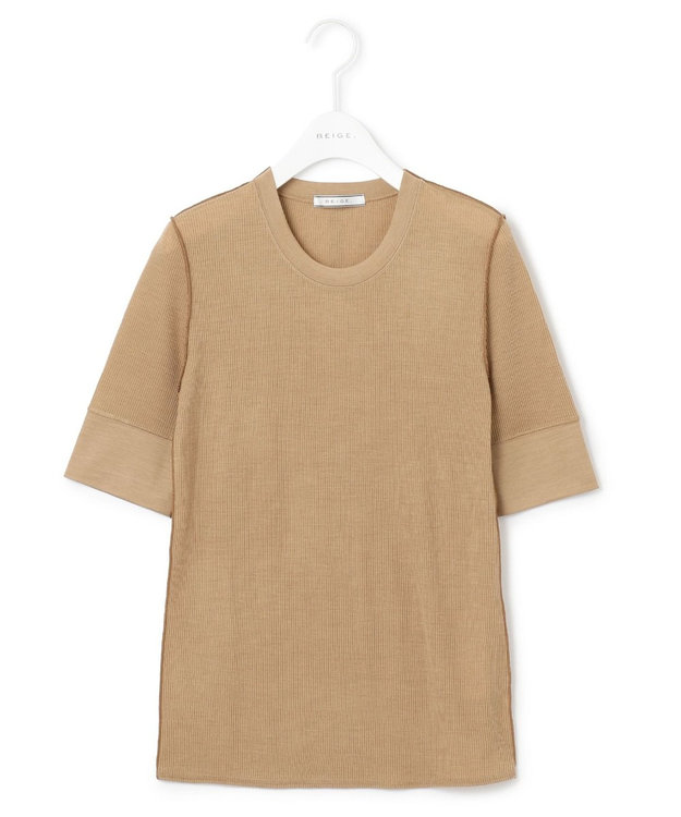 BEIGE, 【S-size】FORD / カットソー Camel