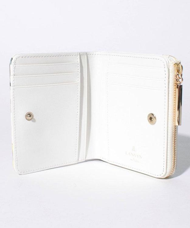 LANVIN en Bleu マルソー 二つ折り財布