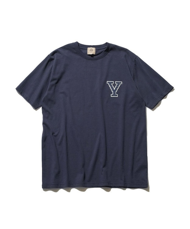 J.PRESS MEN 【J.PRESS×YALE】アスレチッククルーネック Tシャツ