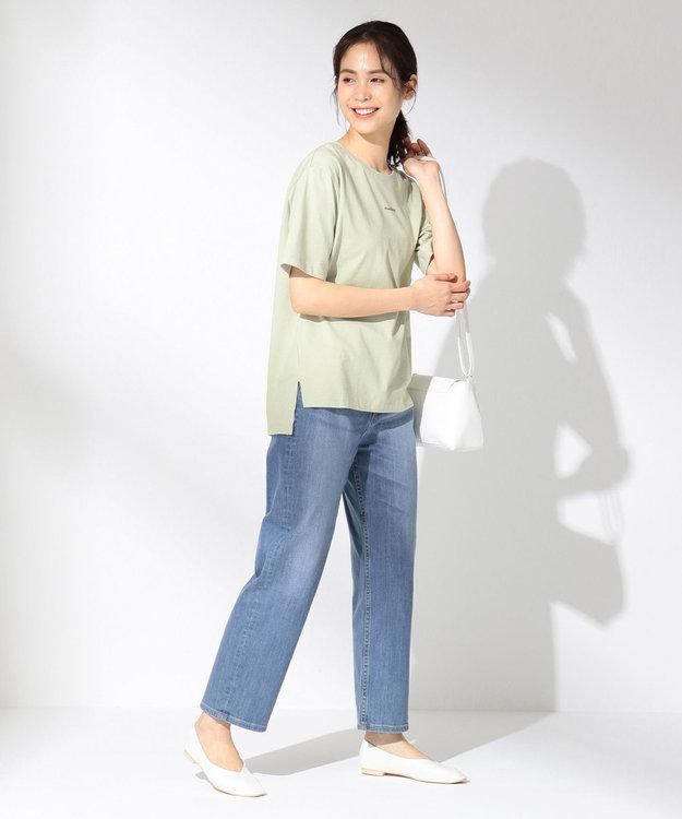 any FAM 【オーガニックコットン】オーガビッツロゴ Tシャツ