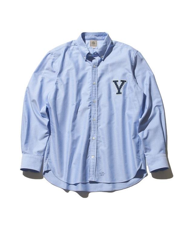 J.PRESS MEN 【J.PRESS×YALE】オックスフォードオーセンティック ボタンダウンシャツ