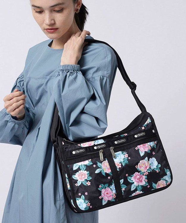 LeSportsac DELUXE EVERYDAY BAG/フローラル ウィム