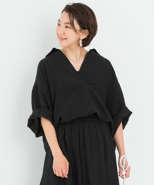 23区 【一部店舗限定】LIBECO スキッパー シャツ