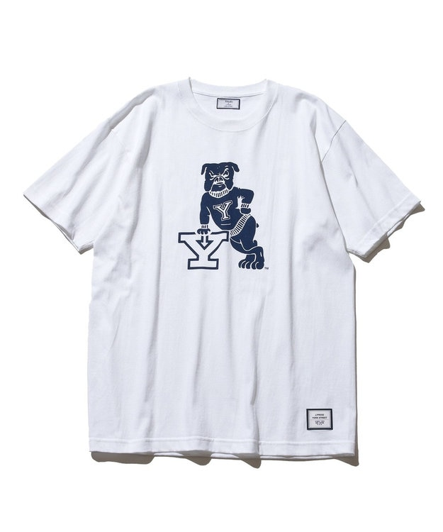 J.PRESS YORK STREET 【UNISEX】YALE × J.PRESS YORK STREET  コラボTシャツ