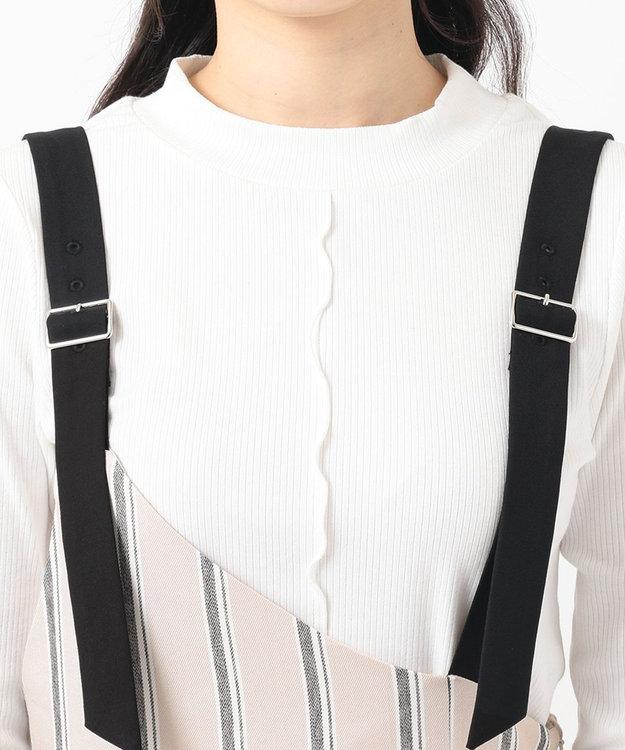 Feroux 【美人百花5月号掲載】ワンショルジャンスカセット ワンピース