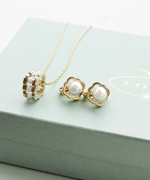 TOCCA CLOVER STUD EARRINGS イヤリング