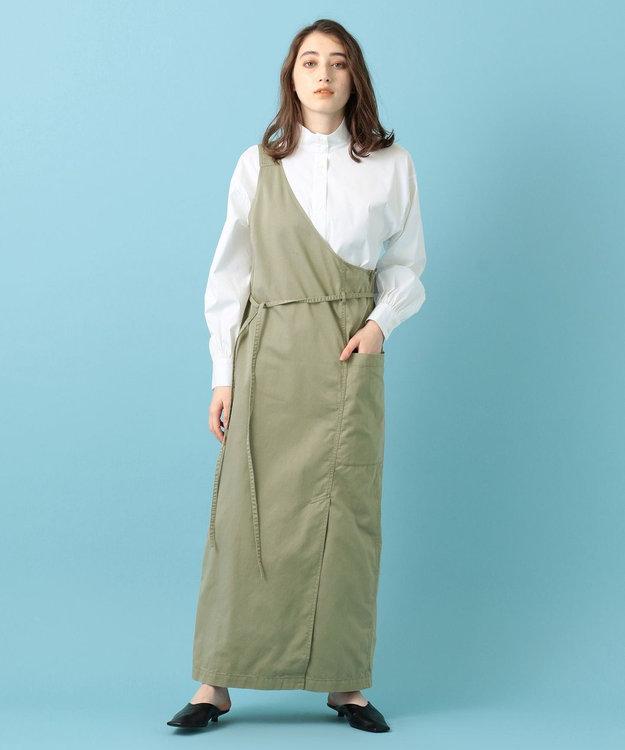 #Newans 【マガジン掲載】SOPHIE/ スタンドカラーシャツ(番号NW38)