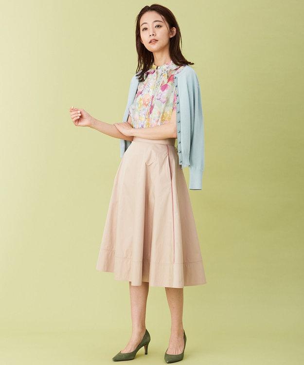組曲 【Rythme KUMIKYOKU】フレアタフタ スカート
