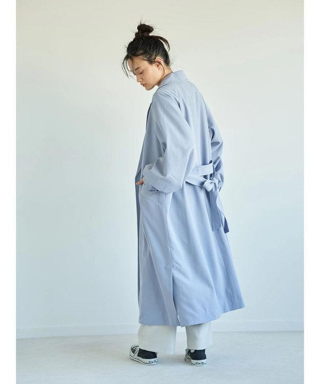 AMERICAN HOLIC 花粉防止袖ギャザーデザイントレンチコート